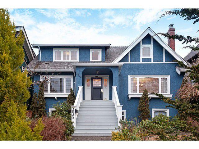 Main Photo: 2832 W 5TH AV in Vancouver: Kitsilano House for sale (Vancouver West)  : MLS®# V1048971