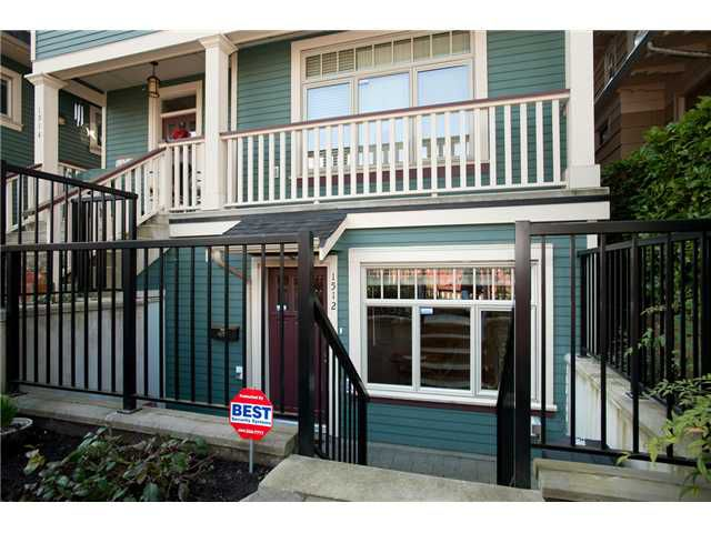 Main Photo: 1512 Gravely Street in Vancouver: Grandview VE Townhouse for sale (Vancouver East)  : MLS®# V883455