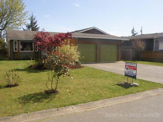 Main Photo: 3635 Montana Drive in Campbell River: House for sale : MLS®# 390874