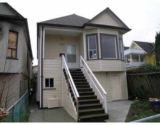 Main Photo: 322 E 18TH AV in : Main House for sale : MLS®# V625063