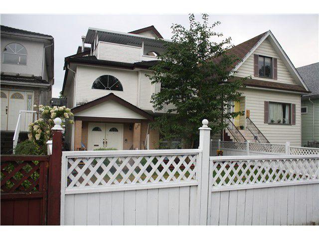 Main Photo: 630 E KING EDWARD AV in Vancouver: Fraser VE House for sale (Vancouver East)  : MLS®# V1022295