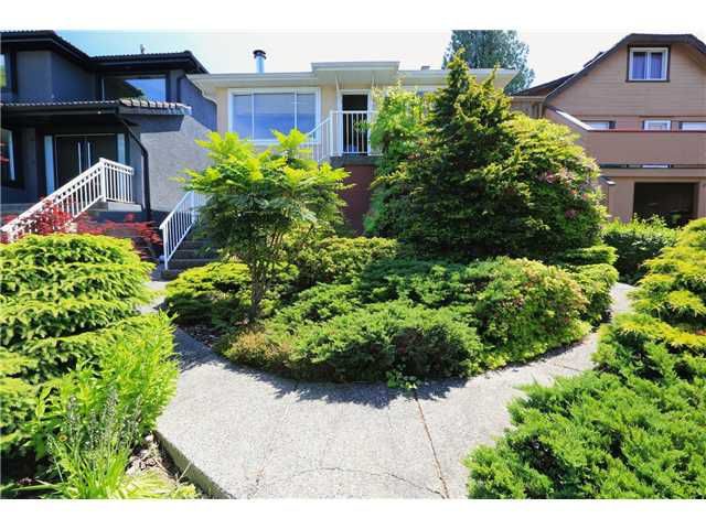 Main Photo: 4116 TRINITY ST in Burnaby: Vancouver Heights House for sale (Burnaby North)  : MLS®# V1033524