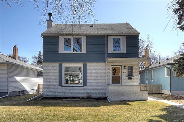 Main Photo: 610 Oak Street in Winnipeg: River Heights South Residential for sale (1D)  : MLS®# 1811002