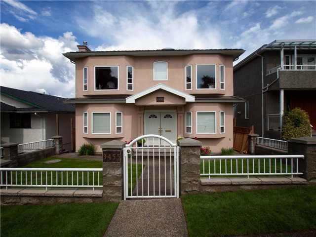 Main Photo: 3455 WORTHINGTON Drive in Vancouver: Renfrew Heights House for sale (Vancouver East)  : MLS®# V955444