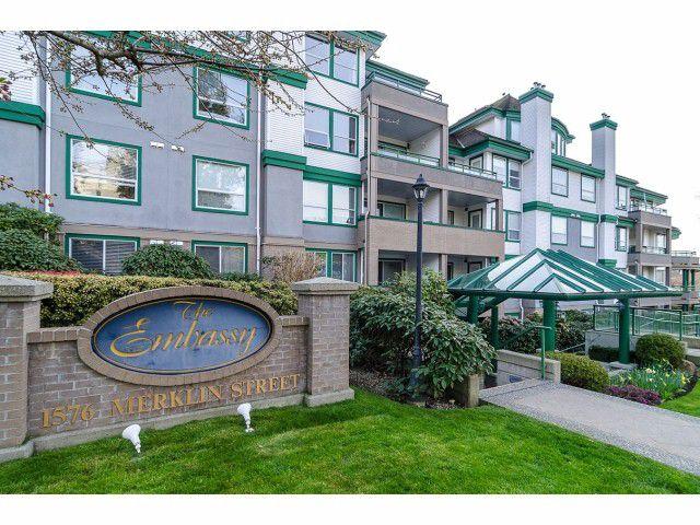 "Main Photo: # 405 1576 MERKLIN ST: White Rock Condo for sale in ""The Embassy"" (South Surrey White Rock)  : MLS®# F1306956"