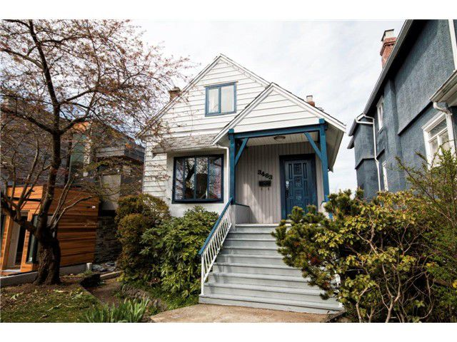 Main Photo: 3463 TRIUMPH ST in Vancouver: Hastings East House for sale (Vancouver East)  : MLS®# V1058446