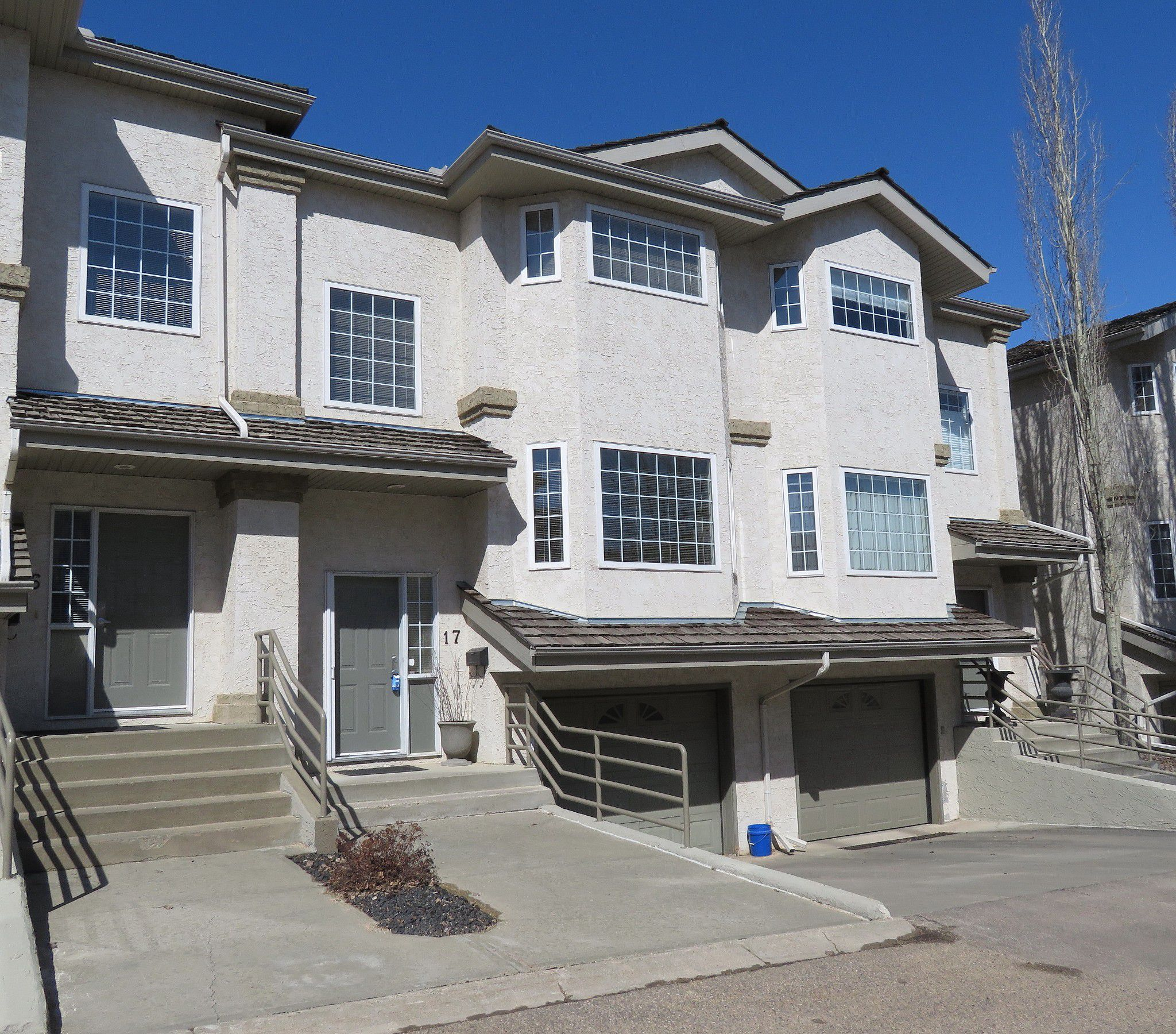 Main Photo: 17 1295 Carter Crest Road in EDMONTON: Townhouse for sale