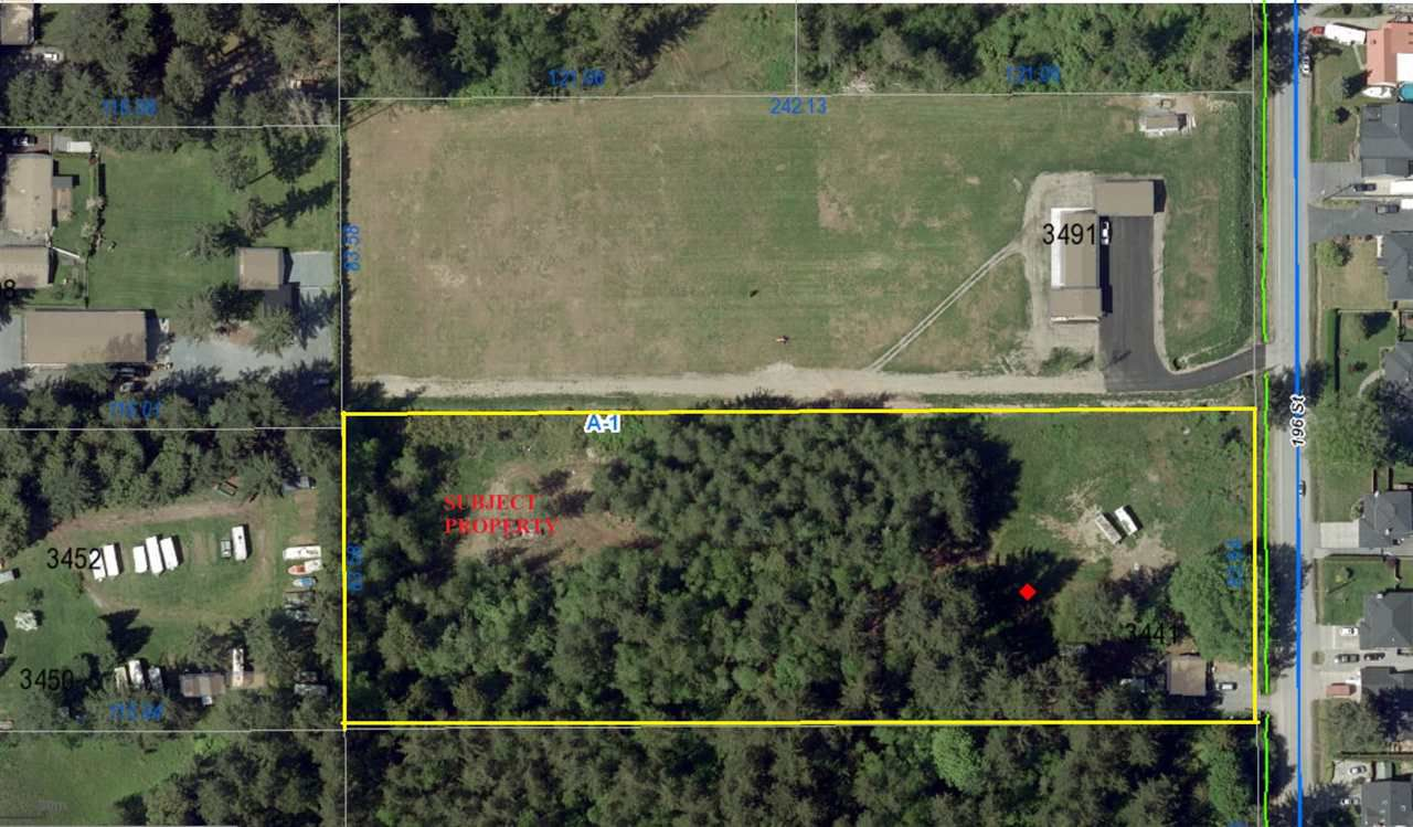 Main Photo: 3441 196 STREET in Cloverdale: Land Commercial  : MLS®# C8016740