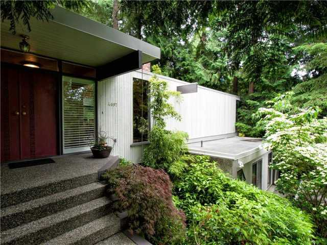 Main Photo: 4697 CAULFEILD Drive in West Vancouver: Caulfeild House for sale : MLS®# V957829