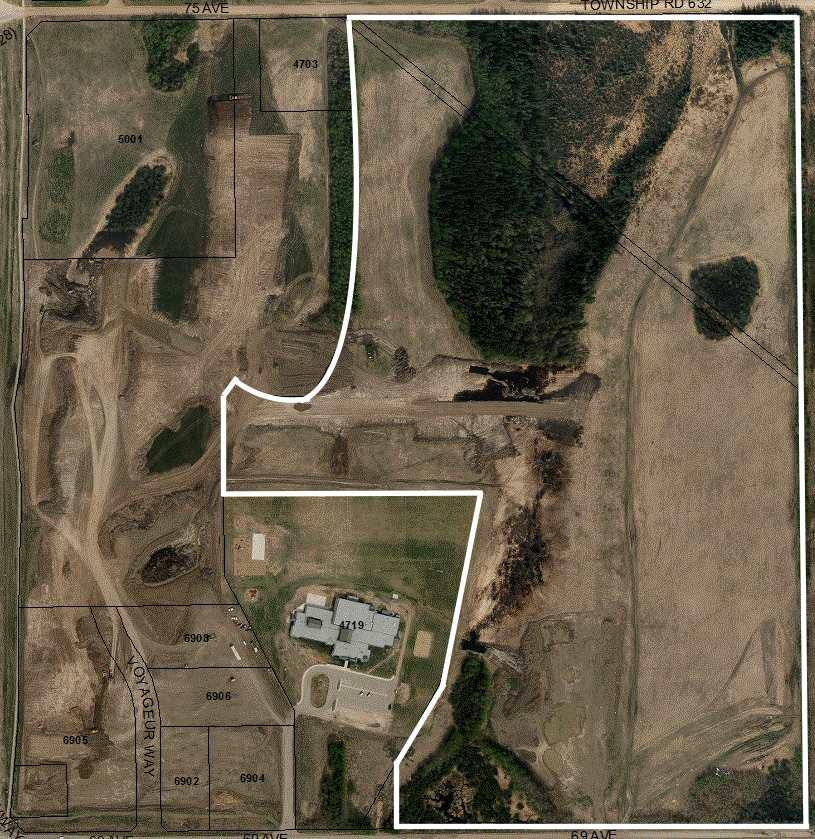 Main Photo: Between 69th & 75th Avenue East of Highway 28 in Cold Lake: Land Commercial for sale : MLS®# E4117338