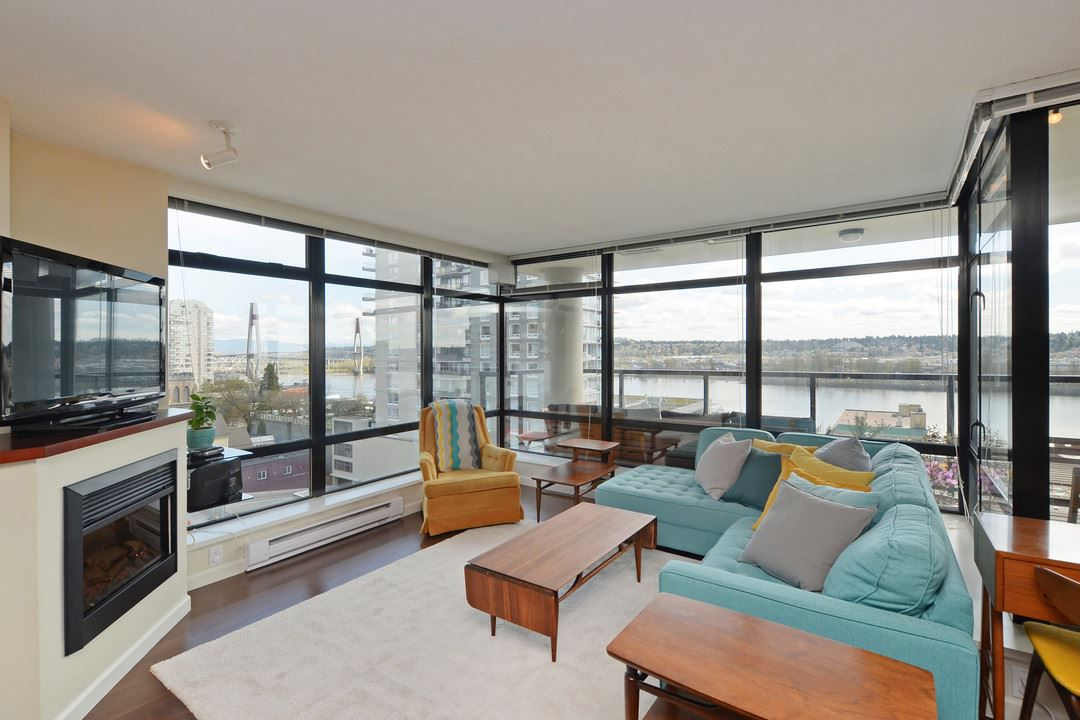 Main Photo: 705 610 VICTORIA STREET in New Westminster: Downtown NW Condo for sale : MLS®# R2356448