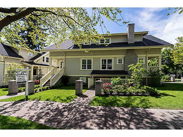 Main Photo: 2315 BALSAM Street in Vancouver: Kitsilano Townhouse for sale (Vancouver West)  : MLS®# V1074012