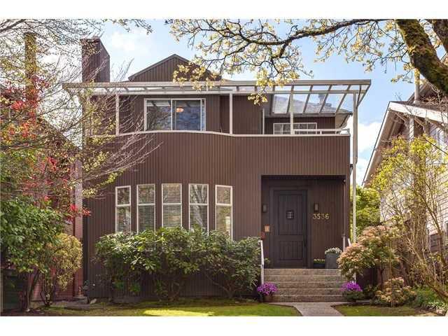 Main Photo: 3536 W 11TH AV in Vancouver: Kitsilano House for sale (Vancouver West)  : MLS®# V1117174