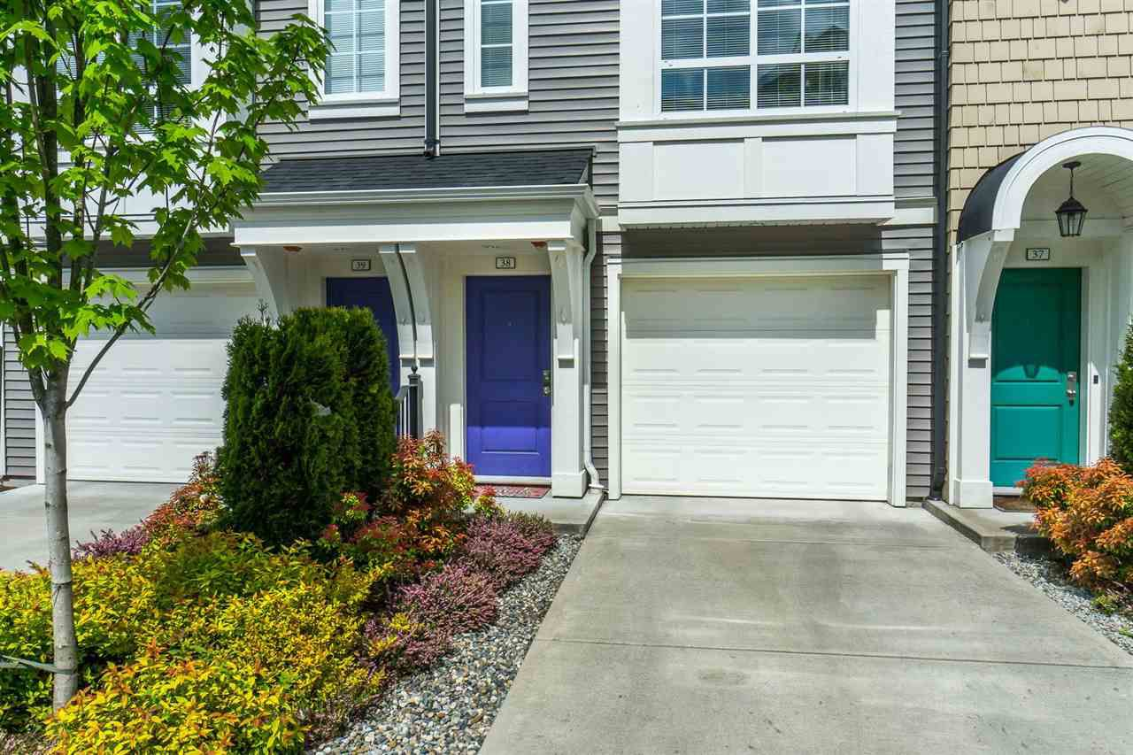 """Main Photo: 38 8438 207A Street in Langley: Willoughby Heights Townhouse for sale in """"YORK By Mosaic"""" : MLS®# R2263435"""