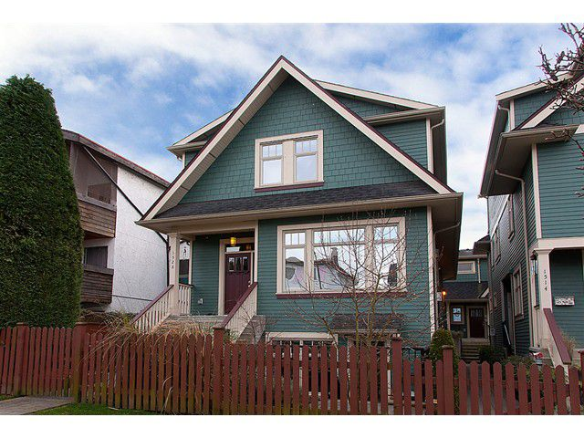 """Main Photo: 1528 GRAVELEY Street in Vancouver: Grandview VE Townhouse for sale in """"GRAVELEY HEIGHTS"""" (Vancouver East)  : MLS®# V991514"""