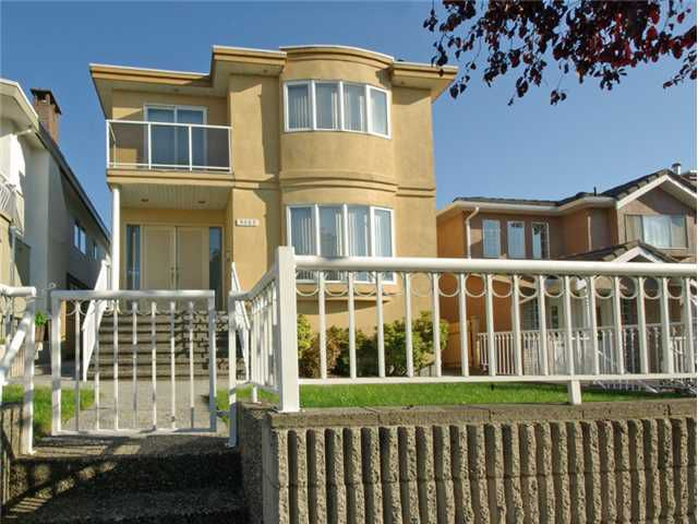 Main Photo: 3263 E 6TH Avenue in Vancouver: Renfrew VE House for sale (Vancouver East)  : MLS®# V1027396