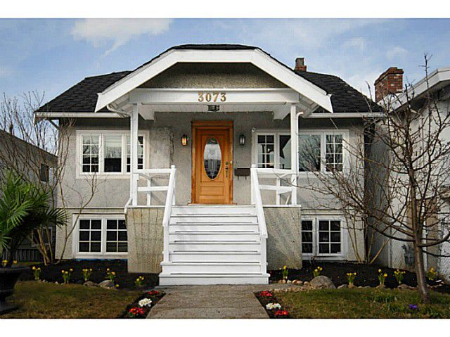 Main Photo: 3073 E 21ST AV in Vancouver: Renfrew Heights House for sale (Vancouver East)  : MLS®# V1052442
