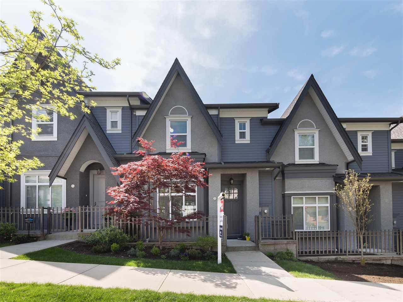 Main Photo: 3 3410 ROXTON Avenue in Coquitlam: Burke Mountain Condo for sale : MLS®# R2263698