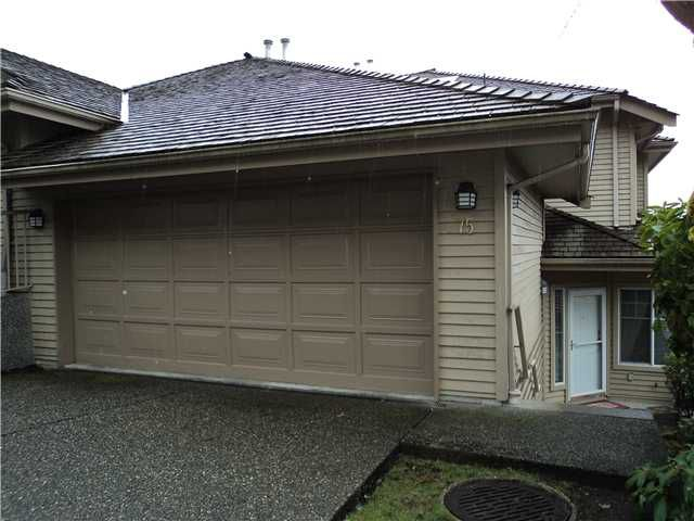 """Main Photo: 75 2979 PANORAMA Drive in Coquitlam: Westwood Plateau Townhouse for sale in """"DEERCREST"""" : MLS®# V935117"""