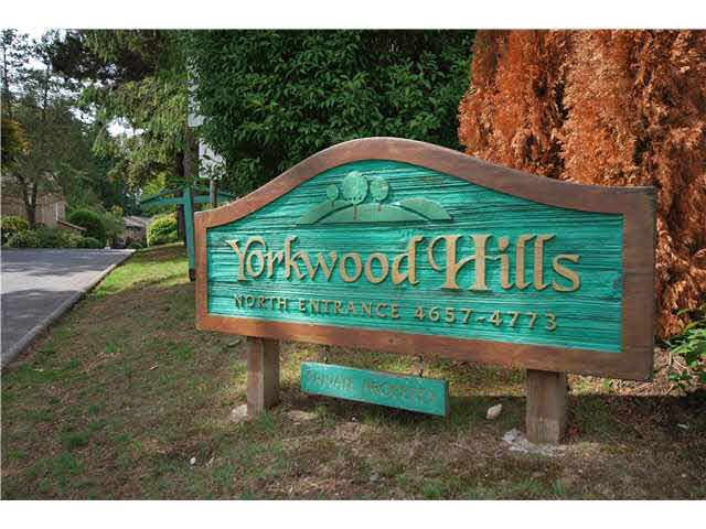 Main Photo: 4691 HOSKINS ROAD in NORTH VANC: Lynn Valley Townhouse for sale (North Vancouver)  : MLS®# V1142690