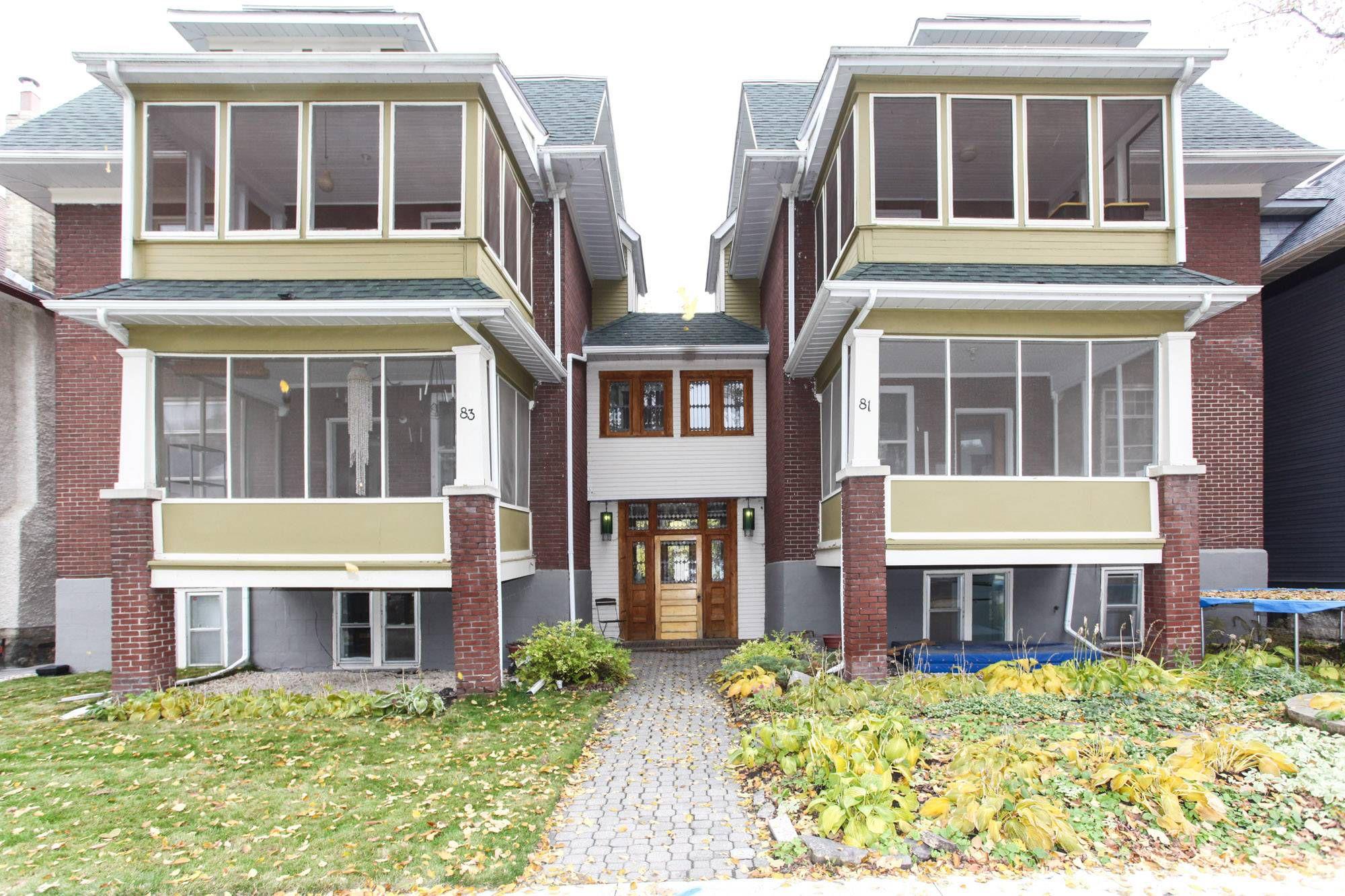 Photo 1: Photos: 4 83 Lenore Street in Winnipeg: Wolseley Condo for sale (5B)  : MLS®# 1917991