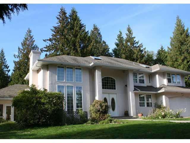 Main Photo: 1027 CHAMBERLIN Road in Gibsons: Gibsons & Area House for sale (Sunshine Coast)  : MLS®# V935724