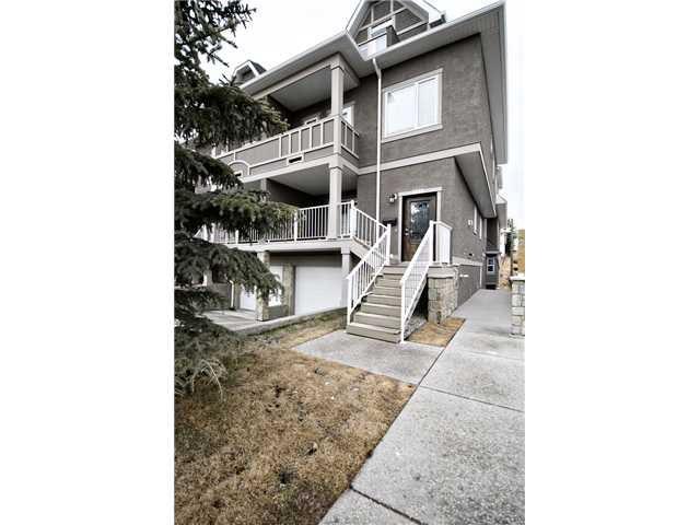 Main Photo: 2 2018 27 Avenue SW in CALGARY: South Calgary Townhouse for sale (Calgary)  : MLS®# C3513084