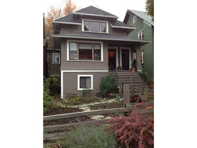 Main Photo: 2629 W 3RD Avenue in Vancouver: Kitsilano House for sale (Vancouver West)  : MLS®# V978905