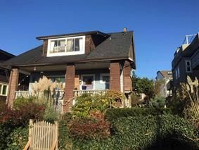 Main Photo: 2425 W 5TH AVENUE in Vancouver: Kitsilano House for sale (Vancouver West)  : MLS®# R2132061