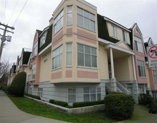 Main Photo: 2267 HEATHER ST in Vancouver: Fairview VW Townhouse for sale (Vancouver West)  : MLS®# V572108