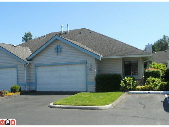 """Main Photo: # 77 5550 LANGLEY BY-PASS RD in Langley: Langley City Townhouse for sale in """"RIVER WYNDE"""" : MLS®# F1217832"""