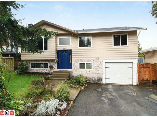 """Main Photo: 4815 201 Street in Langley: Langley City House for sale in """"Simonds"""" : MLS®# F1202417"""