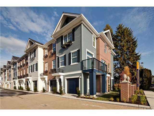 Main Photo: 10 9651 ALBERTA Road in Richmond: Granville Townhouse for sale : MLS®# V939974