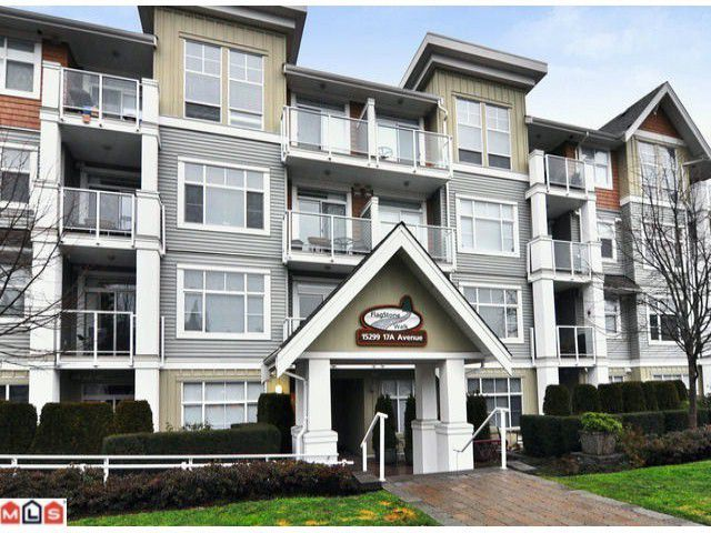 "Main Photo: 308 15299 17A Avenue in Surrey: King George Corridor Condo for sale in ""FLAGSTONE WALK"" (South Surrey White Rock)  : MLS®# F1227568"