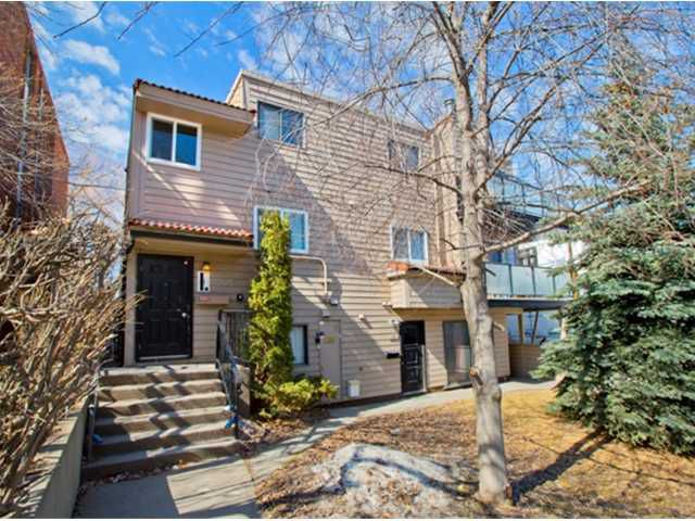 Main Photo: 5 2415 14A Street SW in CALGARY: Bankview Condo for sale (Calgary)  : MLS®# C3560831