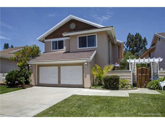 Main Photo: CARMEL VALLEY House for sale : 4 bedrooms : 3970 Carmel Springs Way in San Diego