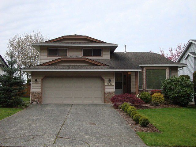 Main Photo: 2981 GLENCOE Place in Abbotsford: Abbotsford East House for sale : MLS®# F1418707