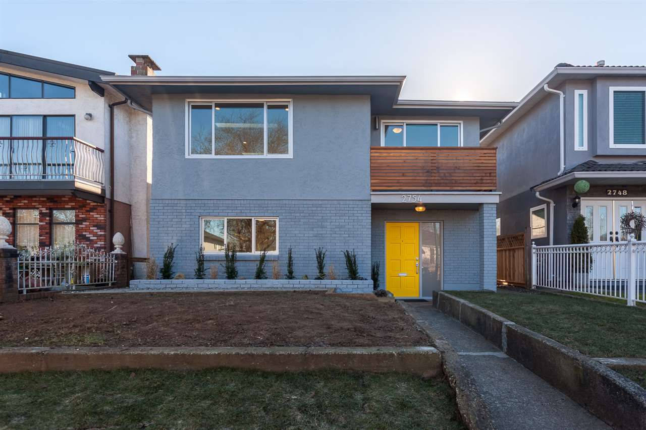 Main Photo: 2754 PARKER STREET in Vancouver: Renfrew VE House for sale (Vancouver East)  : MLS®# R2137737
