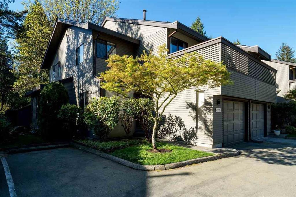 Main Photo: 4713 Glenwood Avenue in North Vancouver: Canyon Heights NV Townhouse for sale : MLS®# r2055633