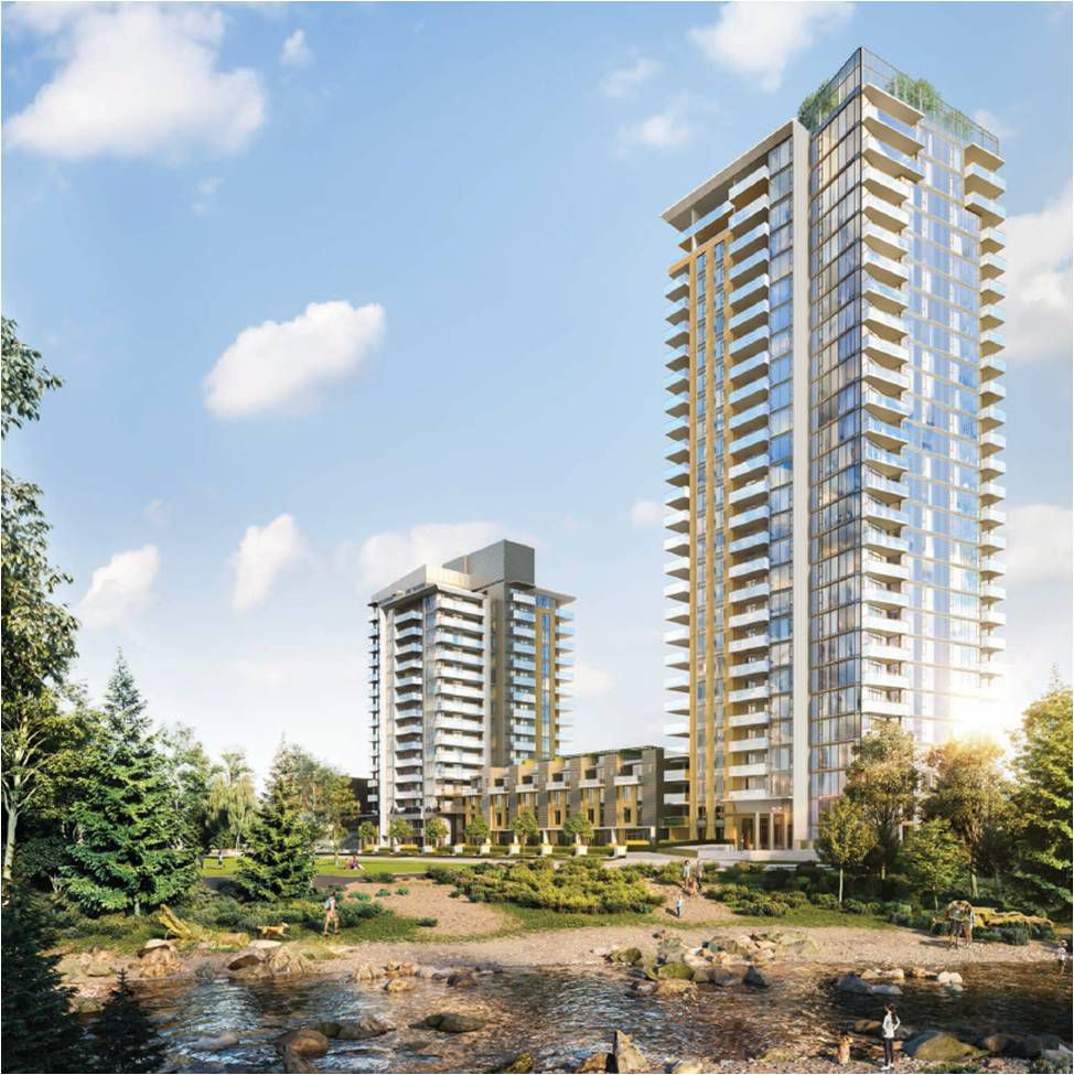 Main Photo: #1408 at HUNTER by INTERGULF in : Lynn Creek Condo  (North Vancouver)