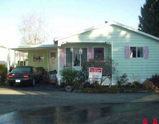 "Main Photo: 115 8234 134 ST in Surrey: Queen Mary Park Surrey Manufactured Home for sale in ""SQUIREGATE"" : MLS®# F2603284"
