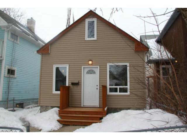 Main Photo: 167 Thomas Berry Street in WINNIPEG: St Boniface Residential for sale (South East Winnipeg)  : MLS®# 1303148