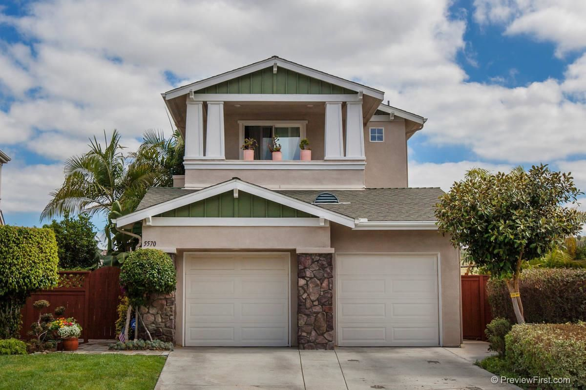 Main Photo: Residential for sale : 3 bedrooms : 5570 COYOTE CRT in CARLSBAD