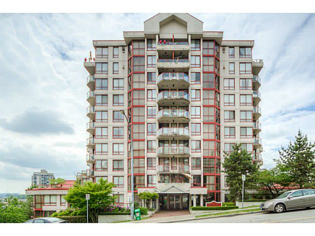 Main Photo: # 1401 220 ELEVENTH ST in New Westminster: Uptown NW Condo for sale : MLS®# V1125541