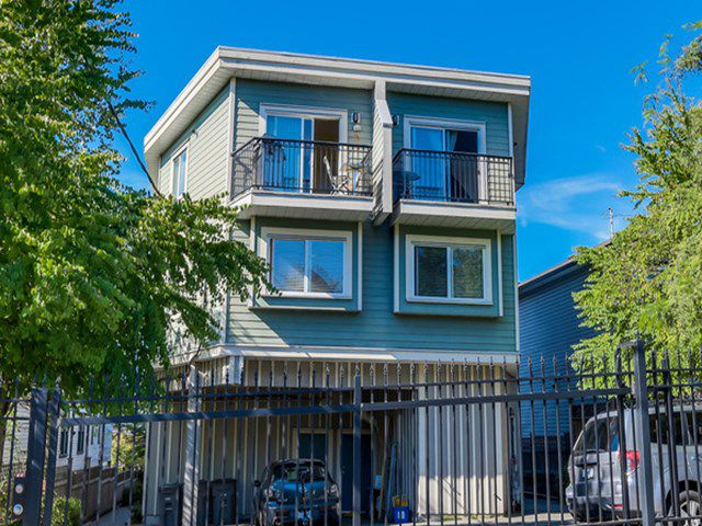 Main Photo: 2038 TRIUMPH ST in Vancouver: Hastings Condo for sale (Vancouver East)  : MLS®# V1138361