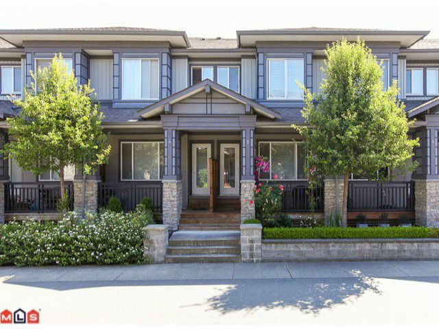 """Main Photo: 5 18701 66TH Avenue in Surrey: Clayton Townhouse for sale in """"ENCORE"""" (Cloverdale)  : MLS®# F1220079"""