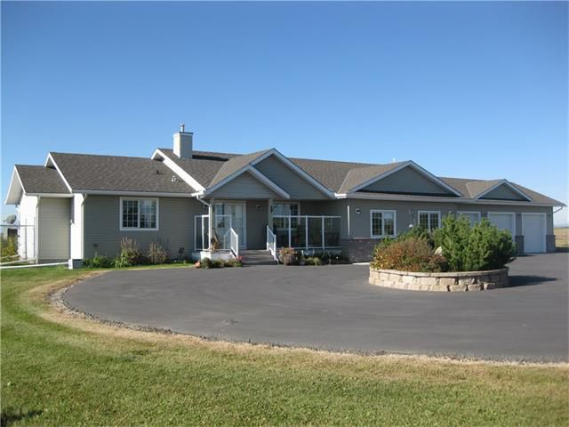 Main Photo: 42143 TOWNSHIP RD. 280 RD in Rural Rockyview County: Rural Rocky View MD House for sale (Rural Rocky View County)  : MLS®# C4033109
