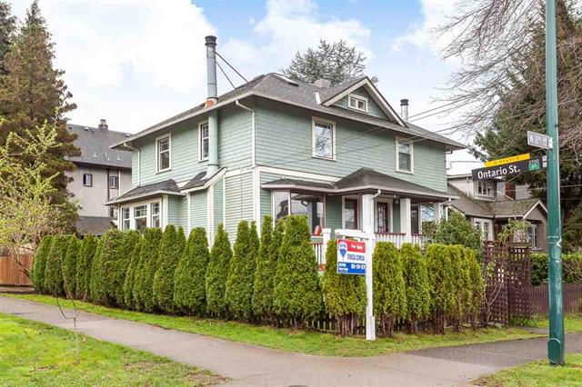 Main Photo: 4 W 11TH AVENUE in Vancouver: Mount Pleasant VW House 1/2 Duplex for sale (Vancouver East)  : MLS®# R2045663