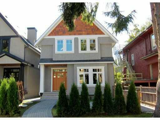 Main Photo: 2766 W 3RD AV in : Kitsilano House 1/2 Duplex for sale : MLS®# V852890