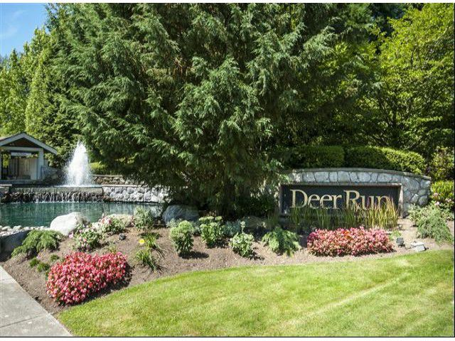 "Main Photo: 8 3225 MORGAN CREEK Way in Surrey: Morgan Creek Townhouse for sale in ""DEER RUN"" (South Surrey White Rock)  : MLS®# F1317959"
